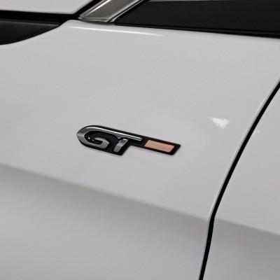 """Monograma """"GT"""" lado izquierdo Peugeot - 3008 (P84), Nueva 5008 (P87)"""