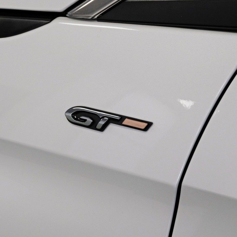 """Badge """"GT"""" left side of vehicle Peugeot - New 3008 (P84), New 5008 (P87)"""