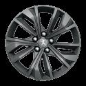 """Alloy wheel Peugeot MERION grey 17"""" - 508 (R8)"""