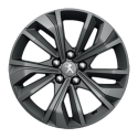 "Alu disk Peugeot MERION šedá 17"" - 508 (R8)"