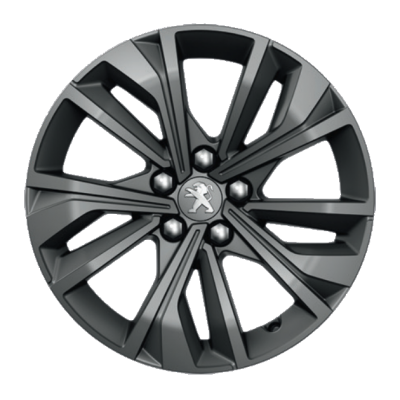 "Alloy wheel Peugeot MERION grey 17"" - 508 (R8)"