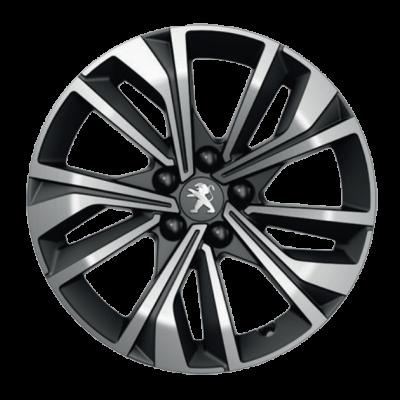 "Leichtmetallfelge Peugeot MERION schwarz 17"" - 508 (R8)"