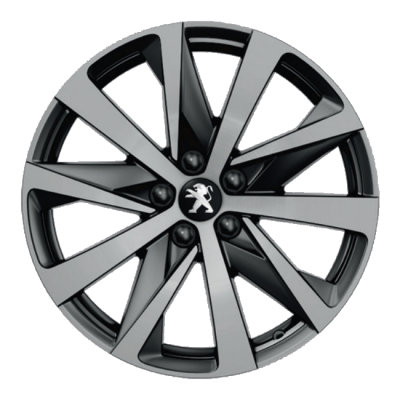 "Alloy wheel Peugeot HIRONE 18"" - 508 (R8)"