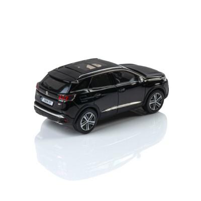 Model Peugeot 3008 GT SUV čierna Perla Nera 1:43