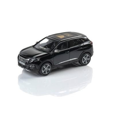 Model Peugeot New 3008 GT SUV Perla Nera 1:43