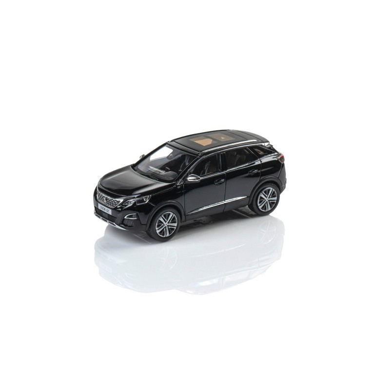 Model Peugeot 3008 GT SUV černá Perla Nera 1:43