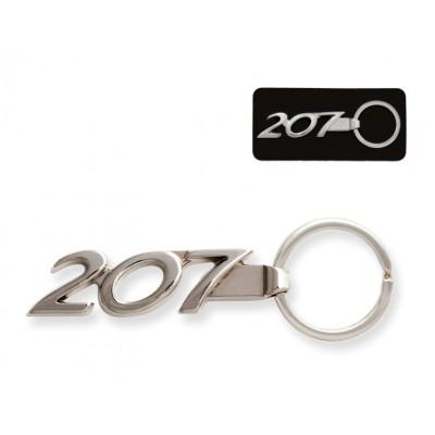 Keyring Peugeot 207