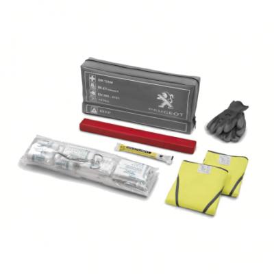 Erste-hilfe-paket mit warn-und signalausrüstung Peugeot