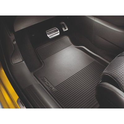 Set of shaped rubber floor mats Peugeot 208 (P21)