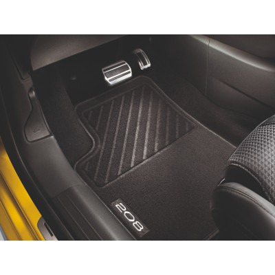 Set of needle-pile floor mats Peugeot 208 (P21)