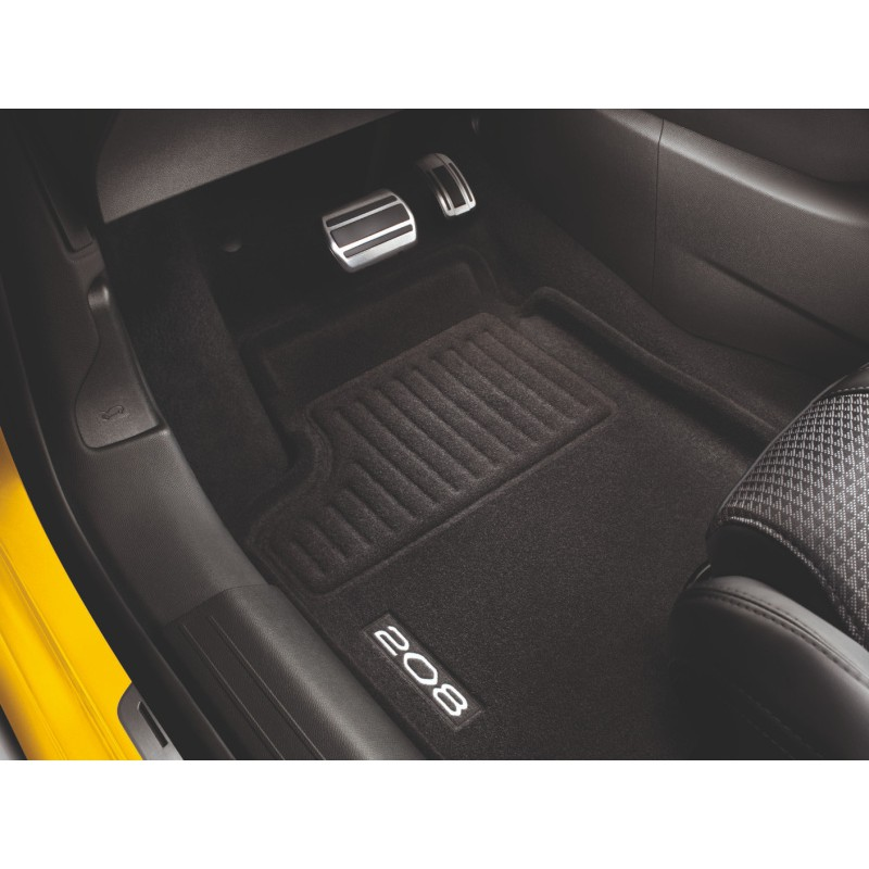 Serie di tappetini sagomati Peugeot 208 (P21)