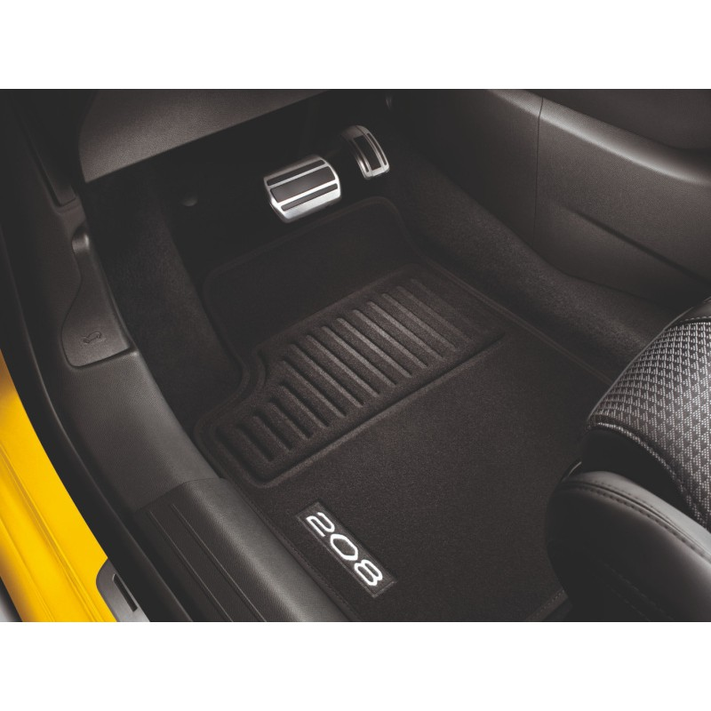Set of velour floor mats Peugeot 208 (P21)