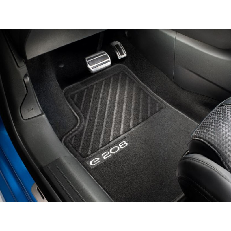Set of needle-pile floor mats Peugeot e-208 (P21)