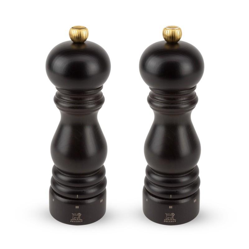 Peugeot Darčekový set mlynčekov na korenie a soľ PARIS U'Select, čokoládový 18 cm