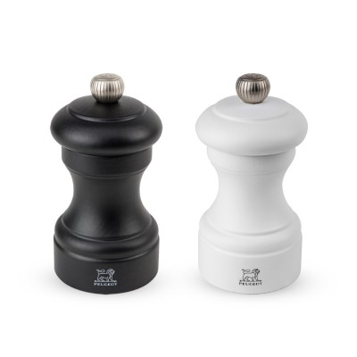 Gift set Peugeot BISTRO pepper mill and salt, black and white 10 cm
