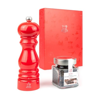 Peugeot PARIS U'Select Gift Set Pepper Mill 18 cm and Tan Hoi pepper (70 g)