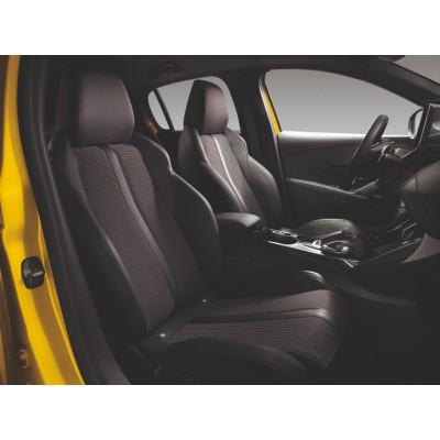 Serie di foderine coprisedili anteriori FIDJI Peugeot 208 (P21)