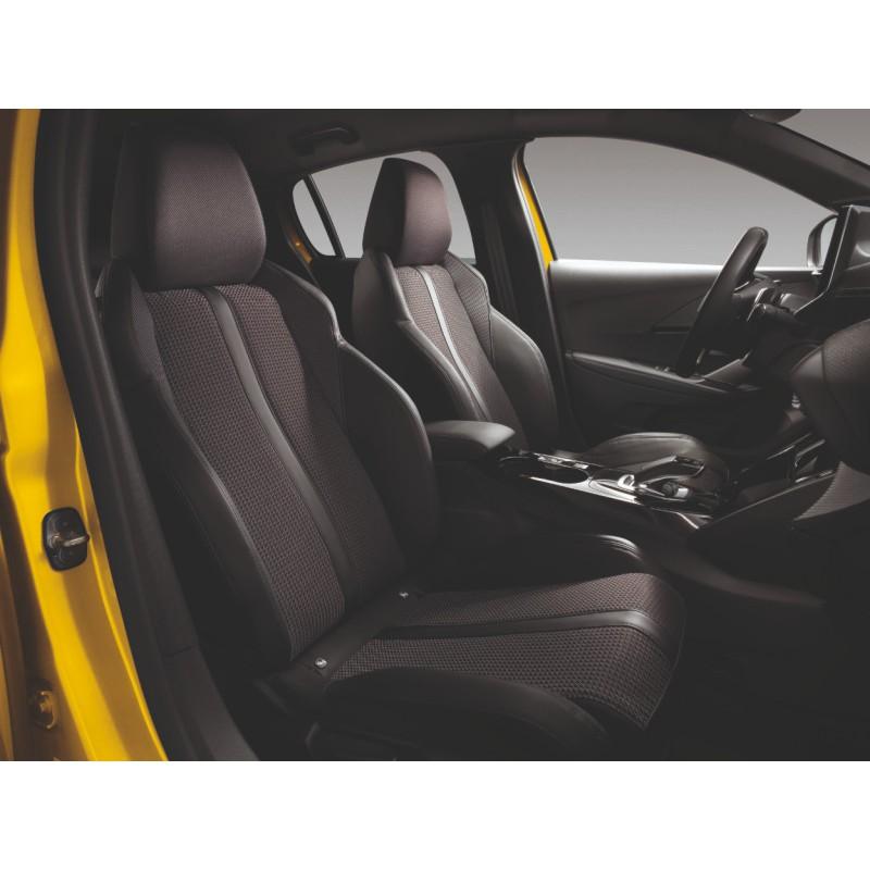 Potahy předních sedadel FIDJI Peugeot 208 (P21)