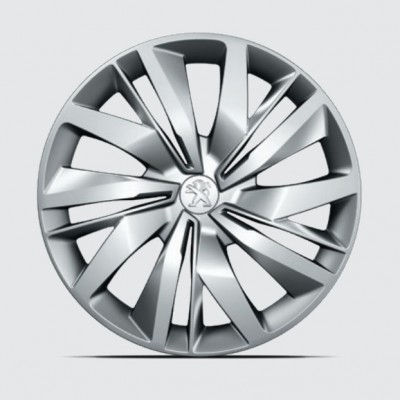 "Juego de 4 embellecedores de rueda LAPA 15"" Peugeot 208 (P21)"