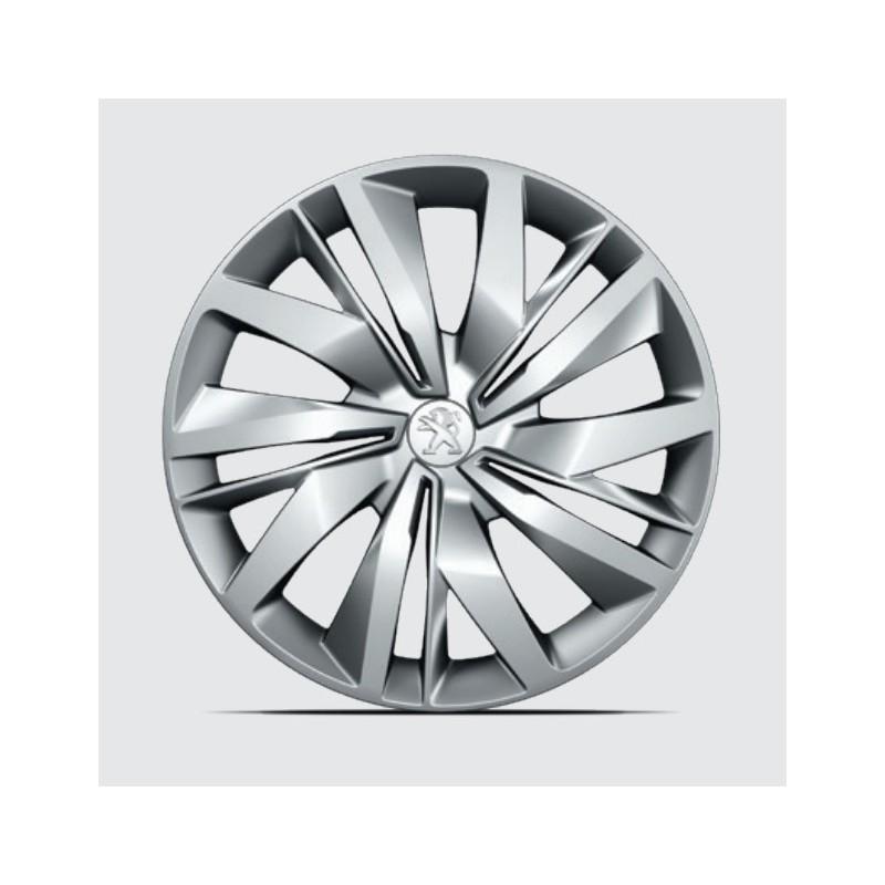 "Set of 4 wheel trims LAPA 15"" Peugeot 208 (P21)"
