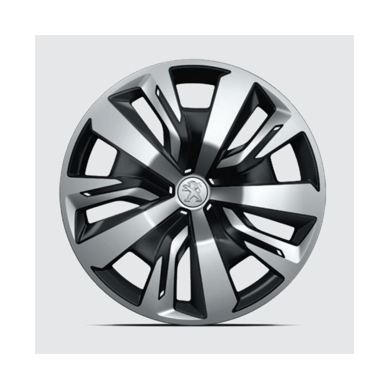 "Set of 4 wheel trims PLAKA 16"" Peugeot 208 (P21)"