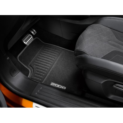 Set of velour floor mats Peugeot 2008 (P24)