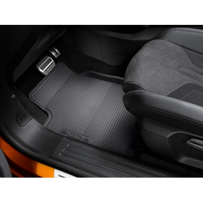 Set of rubber floor mats front Peugeot 2008 (P24)