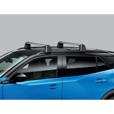 Serie di 2 barre del tetto trasversali Peugeot 2008 (P24)