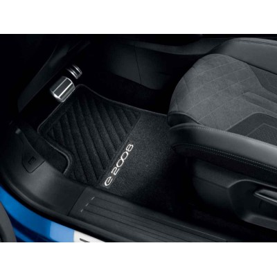 Set of needle-pile floor mats Peugeot e-2008 (P24)