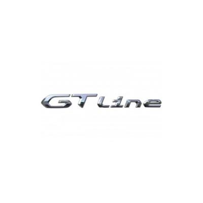 """Štítek """"GT LINE"""" zadní část vozu Peugeot 2008 (P24)"""