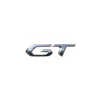 """Štítek """"GT"""" zadní část vozu Peugeot 2008 (P24)"""