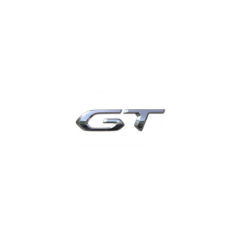 """Štítek """"GT"""" levý nebo pravý bok vozu Peugeot 2008 (P24)"""
