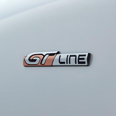 """Štítek """"GT LINE"""" levý nebo pravý bok vozu Peugeot 508 SW (R8)"""