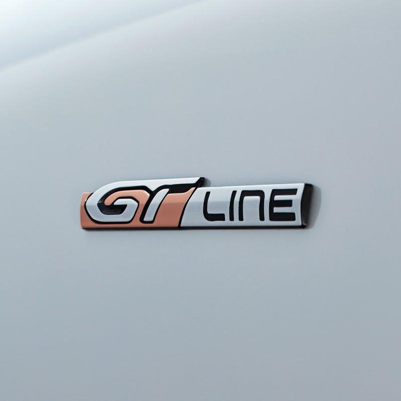 """Štítok """"GT LINE"""" ľavý alebo pravý bok vozidla Peugeot 508 SW (R8)"""