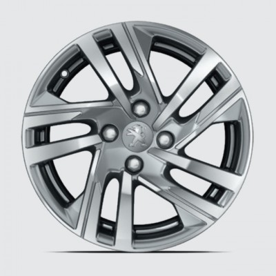 "Set of 4 alloy wheels TAKSIM 16"" Peugeot 208 (P21)"