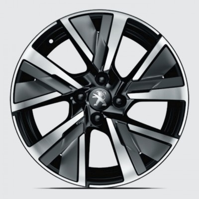 "Alloy wheel CAMDEN 17"" Peugeot 208 (P21)"