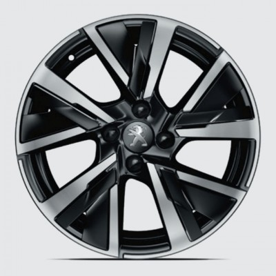 "Alloy wheel JORDAAN 17"" Peugeot 208 (P21)"