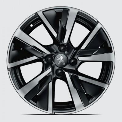 """Leichtmetallfelge JORDAAN 17"""" Peugeot 208 (P21)"""