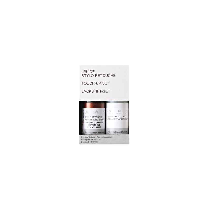 Pennarello per ritocco vernice Peugeot - NERO OBSIDIEN (EXL)