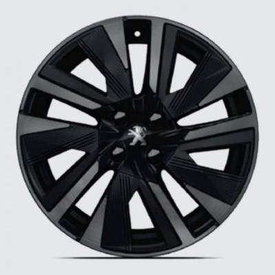 """Alloy wheel Peugeot EVISSA Black Pack 18"""" - 2008 (P24)"""