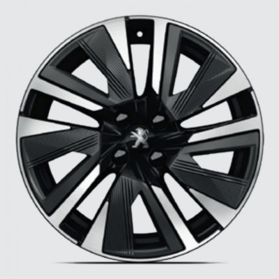 "LLeichtmetallfelge Peugeot BUND 18"" - 2008 (P24)"