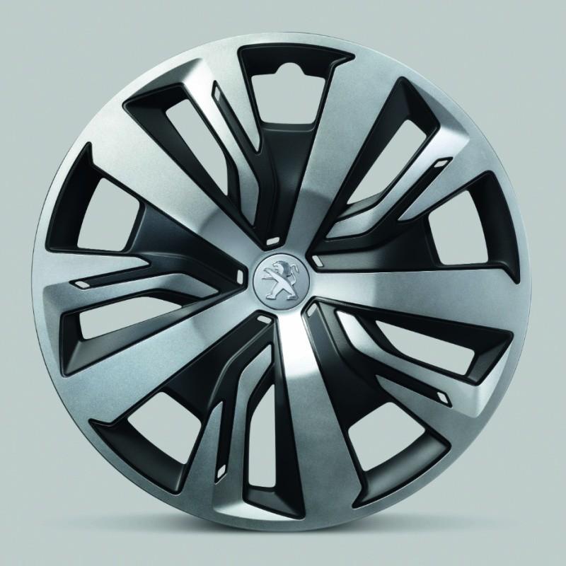 "Set of 4 wheel trims NOLITA 16"" Peugeot"