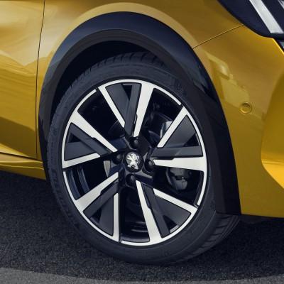 "Alloy wheel CAMDEN 17"" Peugeot 208 (P21)"