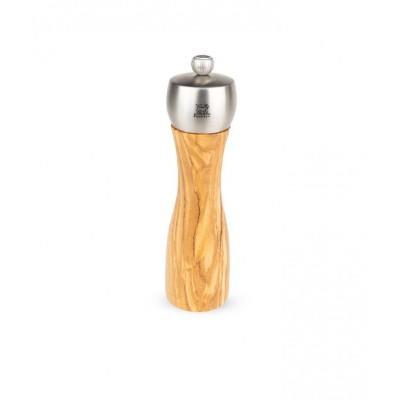 Peugeot Mlynček na soľ FIDJI olivové drevo / nerez 20 cm