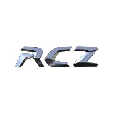 "Badge ""RCZ"" rear Peugeot RCZ"