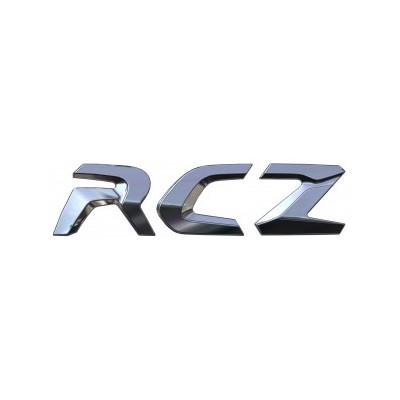 """Štítok """"RCZ"""" zadná časť vozidla Peugeot RCZ"""