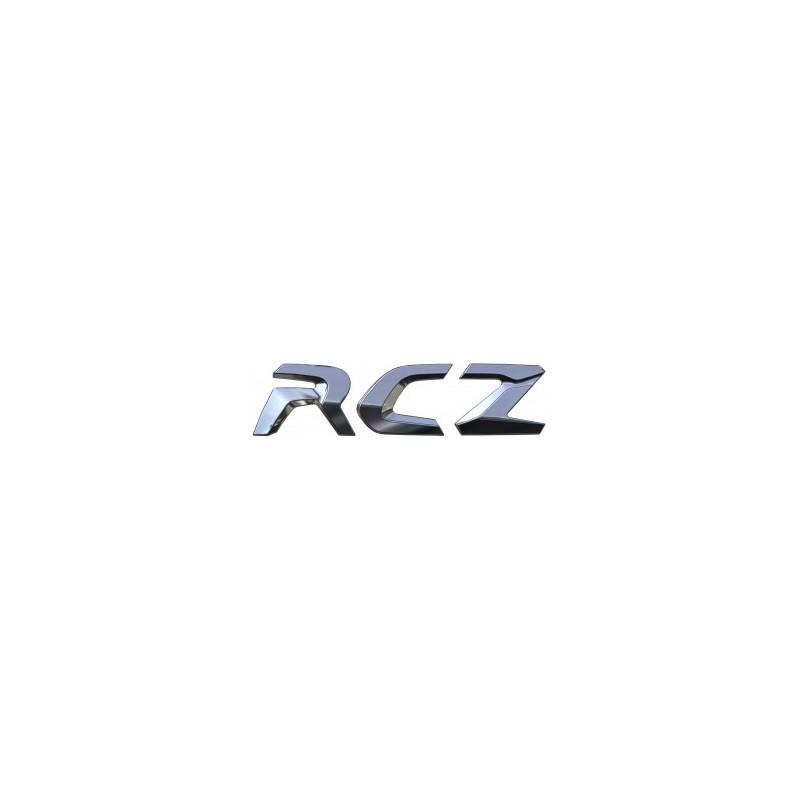 "Badge ""RCZ"" hinten Peugeot RCZ"