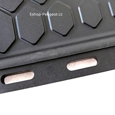 Set of rubber floor mats Peugeot Rifter
