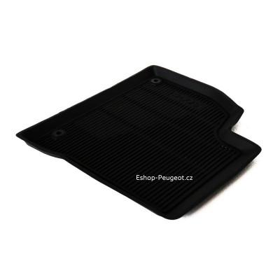 Set of rubber floor mats Peugeot 5008
