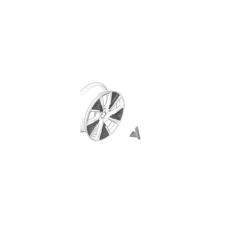 Decorative insert for alloy wheel JORDAAN / BRONX Peugeot 208 (P21) - BLACK ONYX